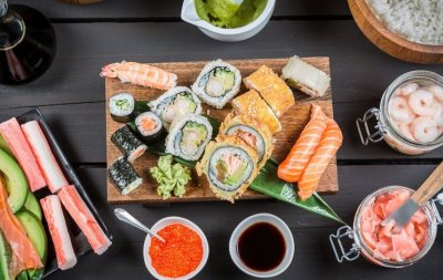 вариации ингредиентов зависят от вкуса и фантазии человека