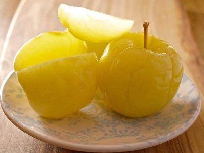 старинный рецепт моченых яблок на меду