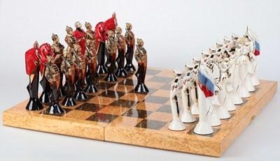 шахматы на военную тематику