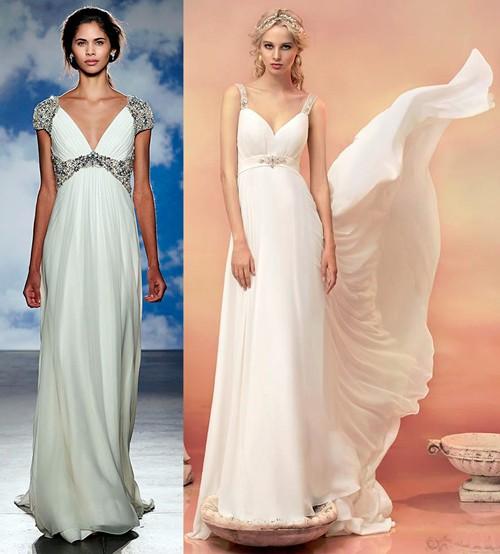 Модные тенденции платье в греческом стиле