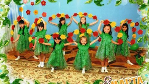 детское поздравление с 8 марта