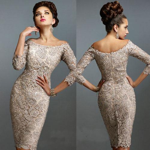 Кружевное платье для невесты