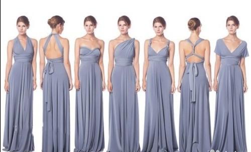 Платье-трансформер для подружек невесты