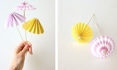 примеры украшений из цветной бумаги
