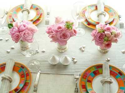 примеры посуды для праздничного стола