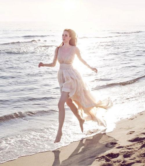 Легкое свадебное платье для церемонии на пляже