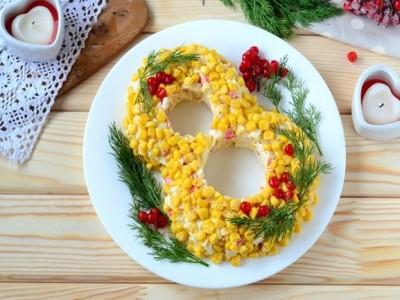 пример оформления праздничных блюд