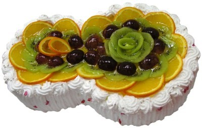 украшение фруктами