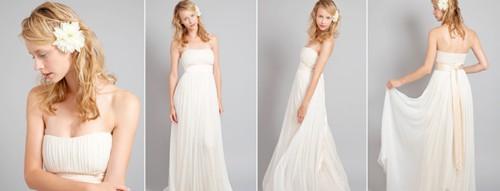Свадебные платья Ампир в греческом стиле
