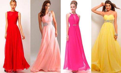 Длинные платья для гостя