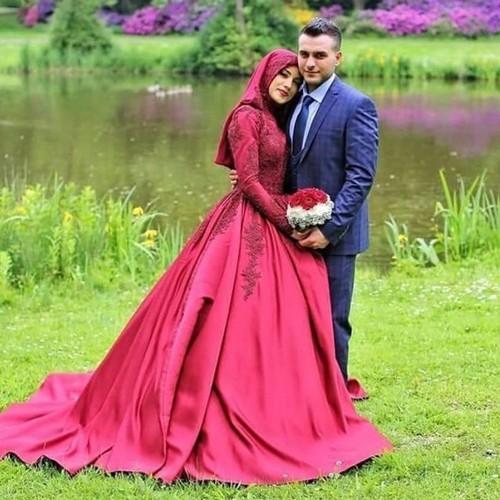 Мусульманское свадебное платье для невесты