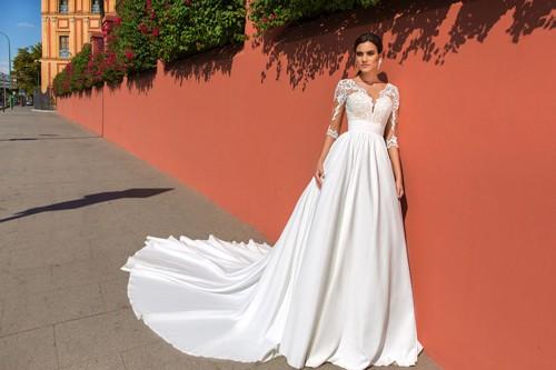 Свадебные платья с рукавами и с закрытыми плечами