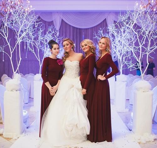 Платья для подружек невесты