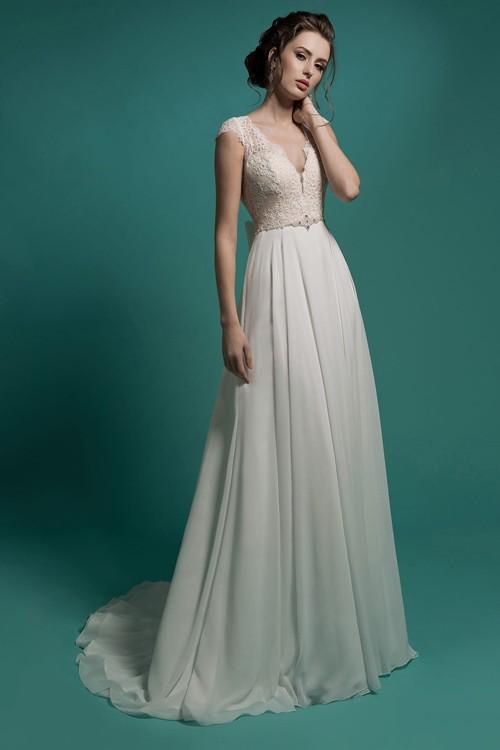 Свадебное платье Gabbiano без кружева