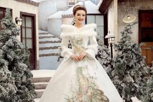 Зимние свадебные платья