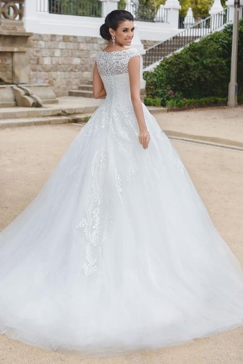 Пышное свадебное платье Gabbiano