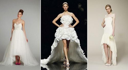 Свадебные платья для невесты с открытыми ногами