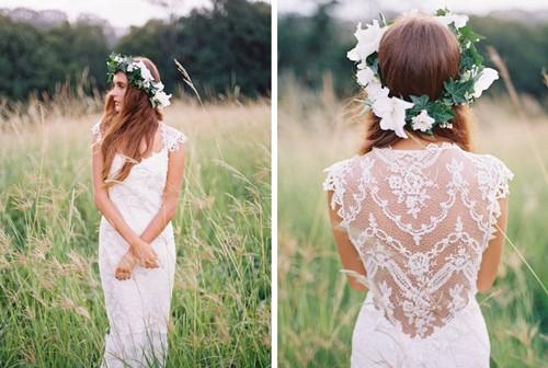венок невеста