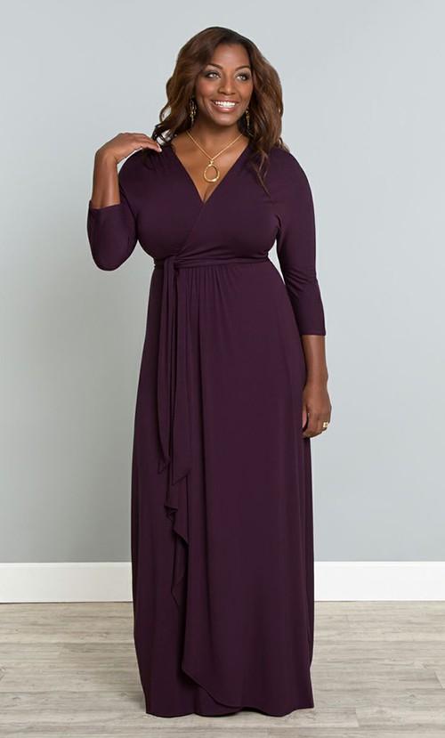 Вариант платья с запахом