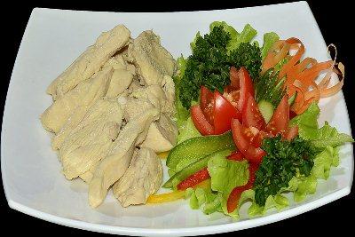 оптимальная порция должна помещаться в небольшую тарелку и на время диеты лучше всего пользоваться маленькими столовыми приборами