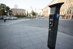 Платная парковка в центре СПб