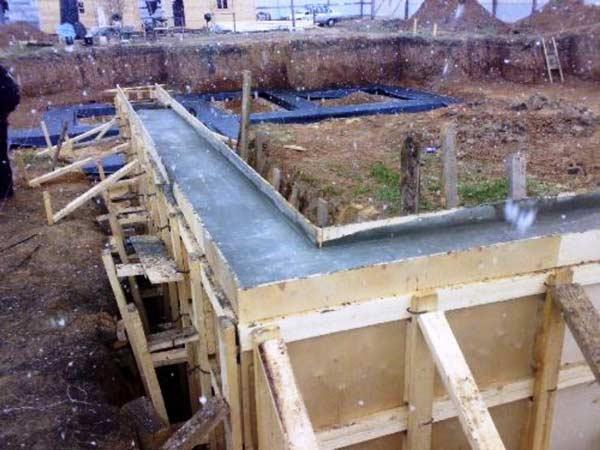 Выдержка бетона в опалубке