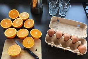 Максимально эффективная диета на яйцах и апельсинах