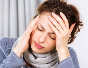 Низкокалорийный рацион питания может вызвать головные боли