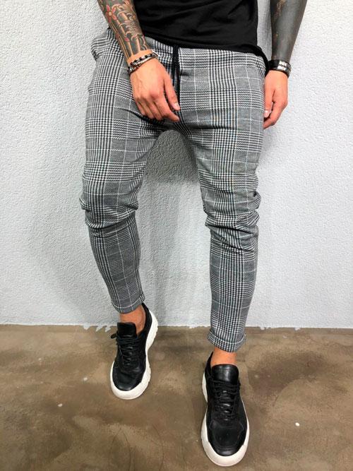 мужские-джинсы-в-клетку