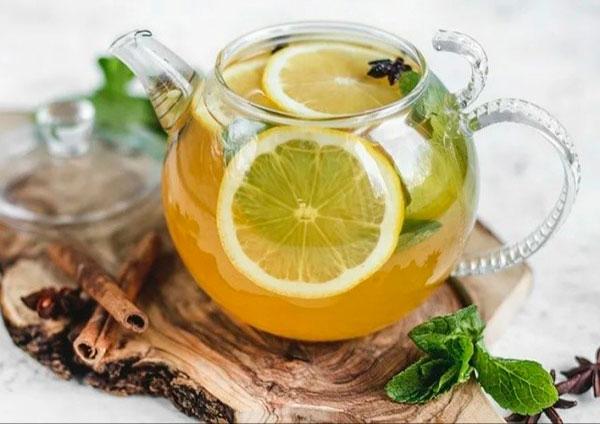 медовый сбитень с лимоном