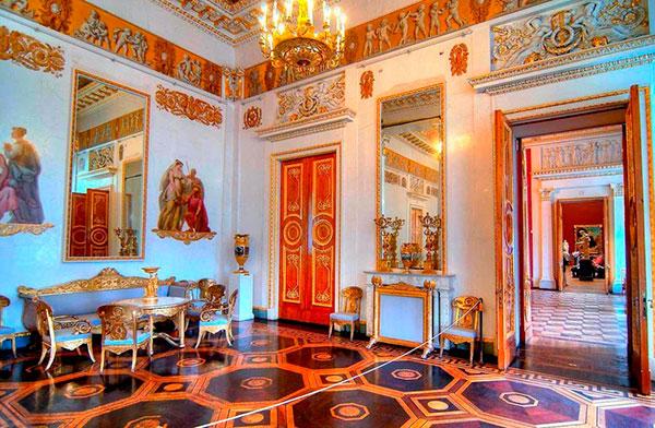Интерьеры Михайловского замка