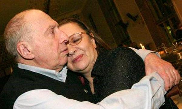Счастливый брак актера с Натальей Теняковой продолжался до конца жизни