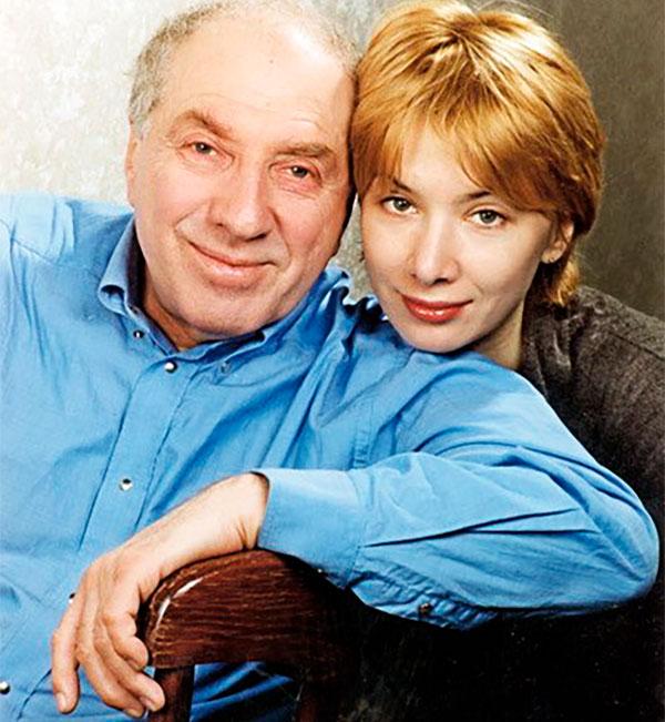 Сергей Юрский с дочерью