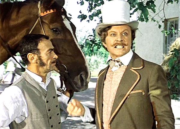 """Фадинар в телефильме """"Соломенная шляпка"""", 1974 год"""