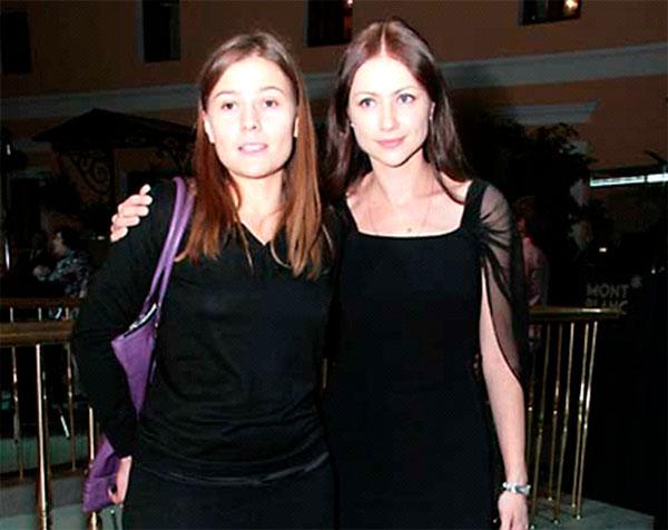 Мария Голубкина и Мария Миронова
