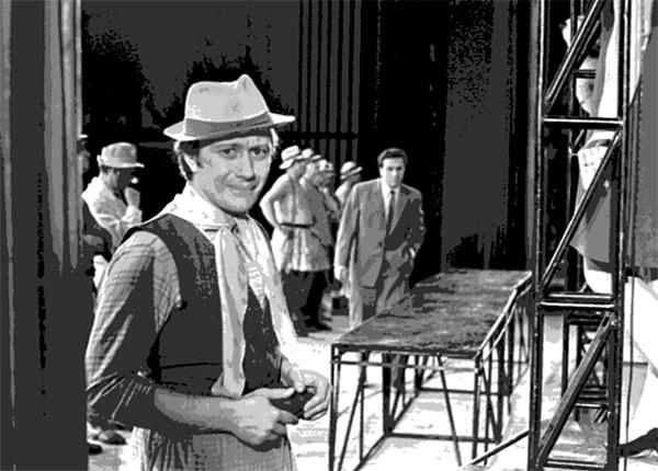 "Холден Колфилд в спектакле ""Над пропастью во ржи"" по Сэлинджеру"