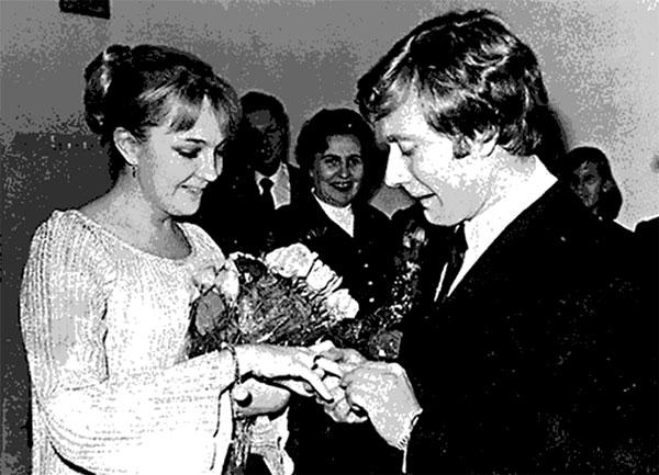 Регистрация брака Миронова с Екатериной Градовой