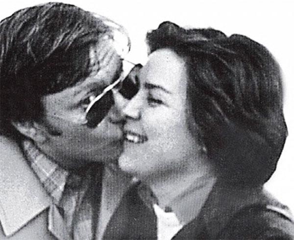 Андрей с женой Ларисой