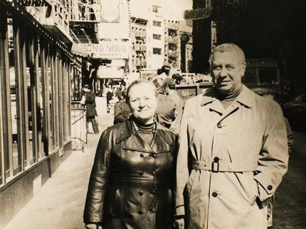 Счастливая семья Папанова и Каратаевой
