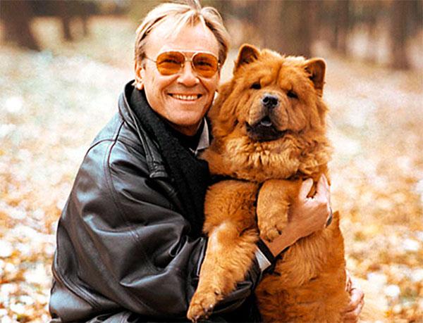 Актер тоже неравнодушен к собакам