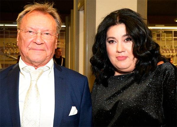 Сергей Каюмович с супругой Екатериной