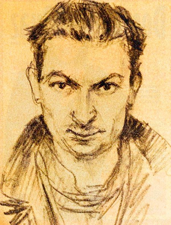Автопортрет Георгия Вицина