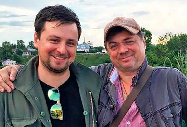 Внук актера — Евгений и сын Андрей