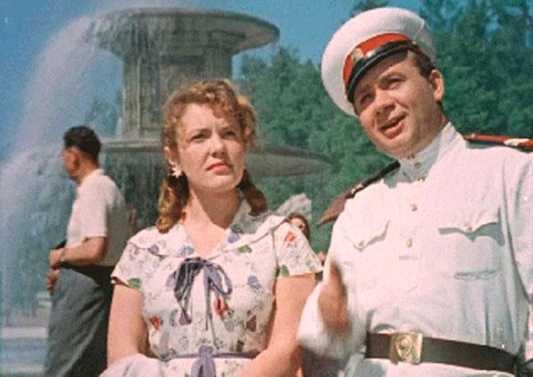 """Милиционер Сердюков """"Улица полна неожиданностей"""", 1957 год"""