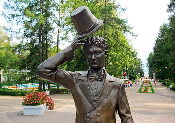Памятник Вицину в Зеленогорске