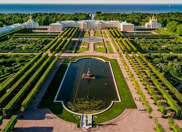 Панорама Верхнего сада