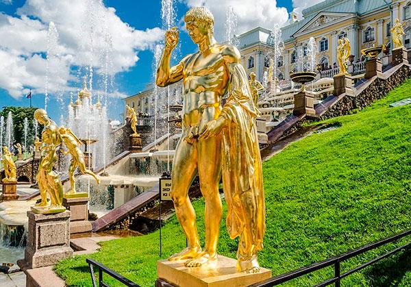 Петергофские скульптуры