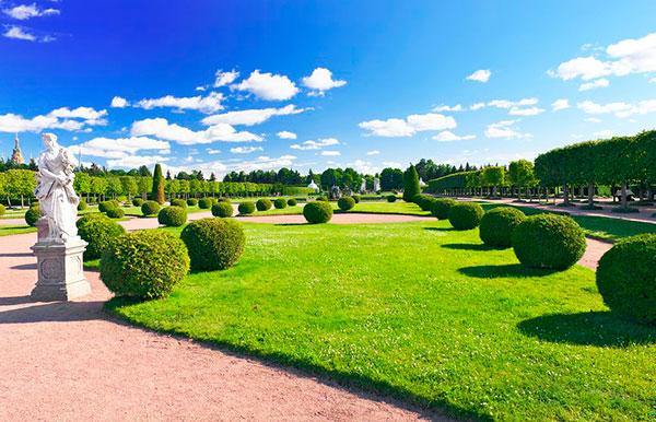 В Верхнем саду