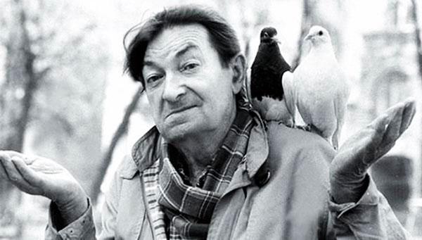 Вицин выходил на прогулки, чтобы покормить голубей