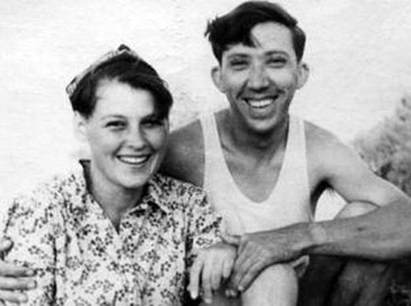 Юрий и Татьяна Никулины в молодости
